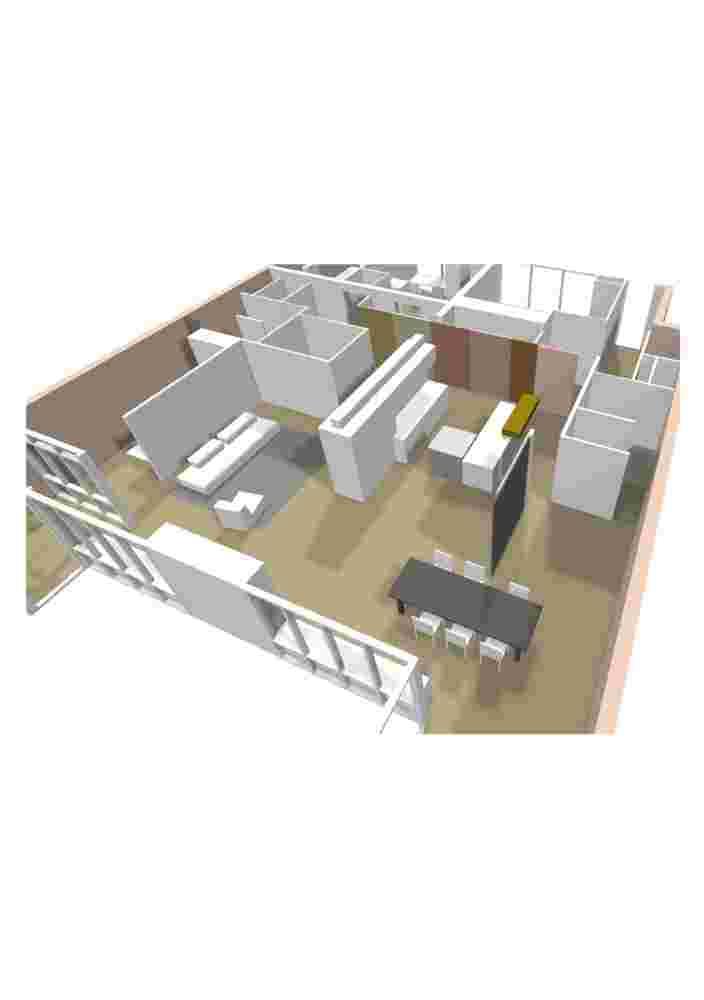 3D plattegrond